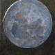 Maan, Grijs (olieverf op paneel 20 x 25 cm)