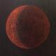 Rode Maan (olieverf op doek, 98 x 107 cm)